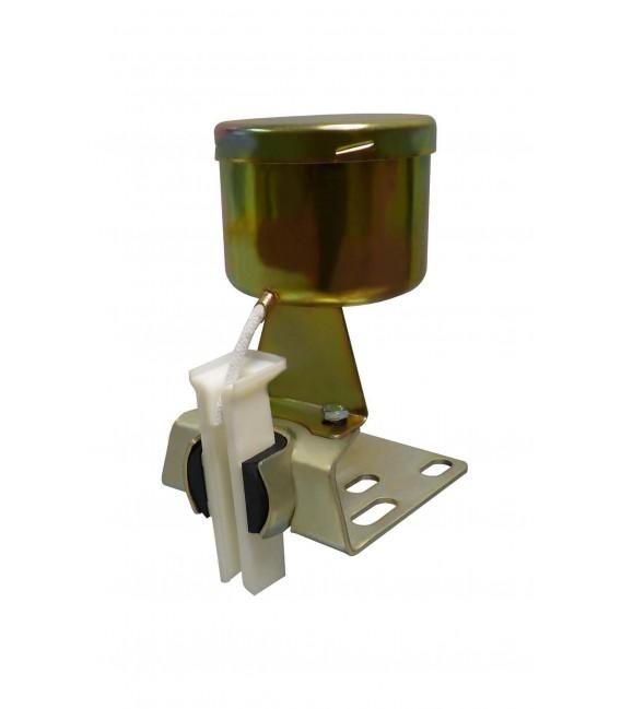 Lubrificador para cabine com pote com grease nylon