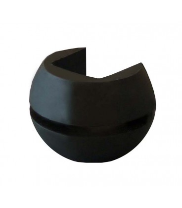 Giunto sferico in gomma para lubrificadores 9129BNGP, 9129BNGW