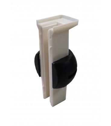 Guarnição de Arnitel (Wulkollan), com giunto sferico para lubrificadores 9129BNGP, 9129BNGW