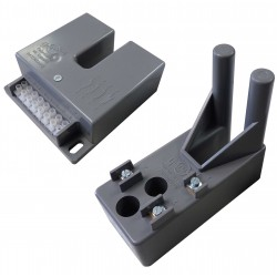 Interruptores accionados por lâmina de metal